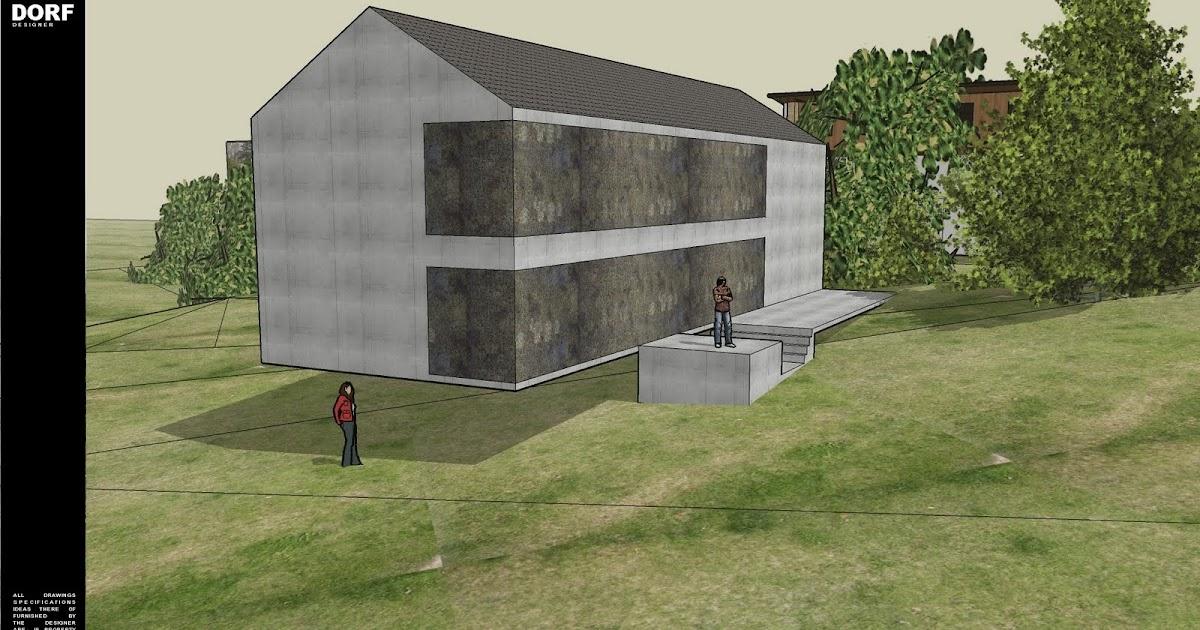 plan maison architecte design. Black Bedroom Furniture Sets. Home Design Ideas