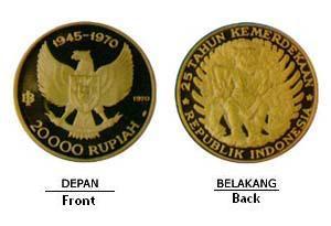 Indonesia pernah membuat koin dengan nominal 200.000