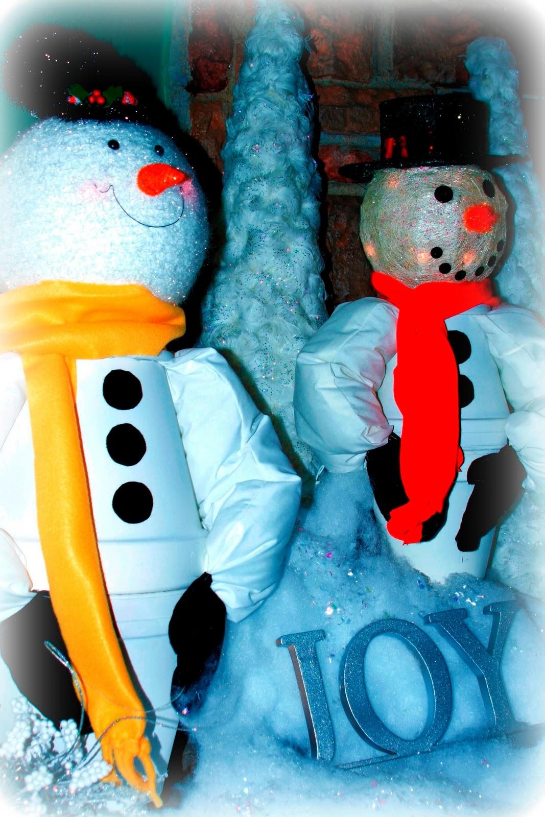Always Chasing Life: DIY Clay Pot Snowmen!!