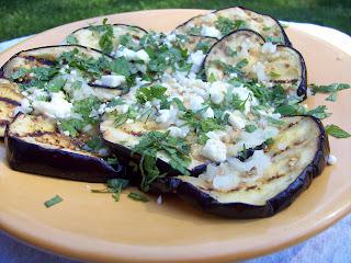 Grilled Eggplant With Garlic-Cumin Vinaigrette, Feta ...