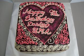 Jasmine S Kitchen Of All Things Nice Uma S Birthday Cake