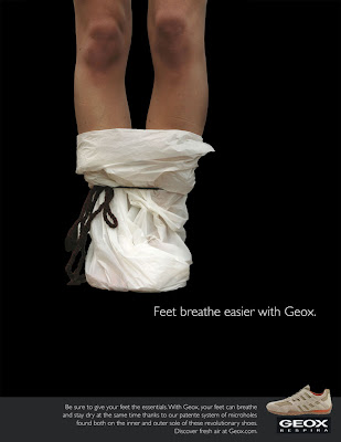 otro esta ahí grano  neringawork: Print Ads for Geox breathable shoes