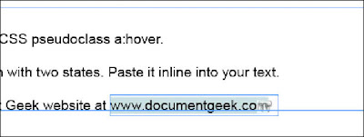 Document Geek: Inline Buttons: How to make a URL in a PDF Underline