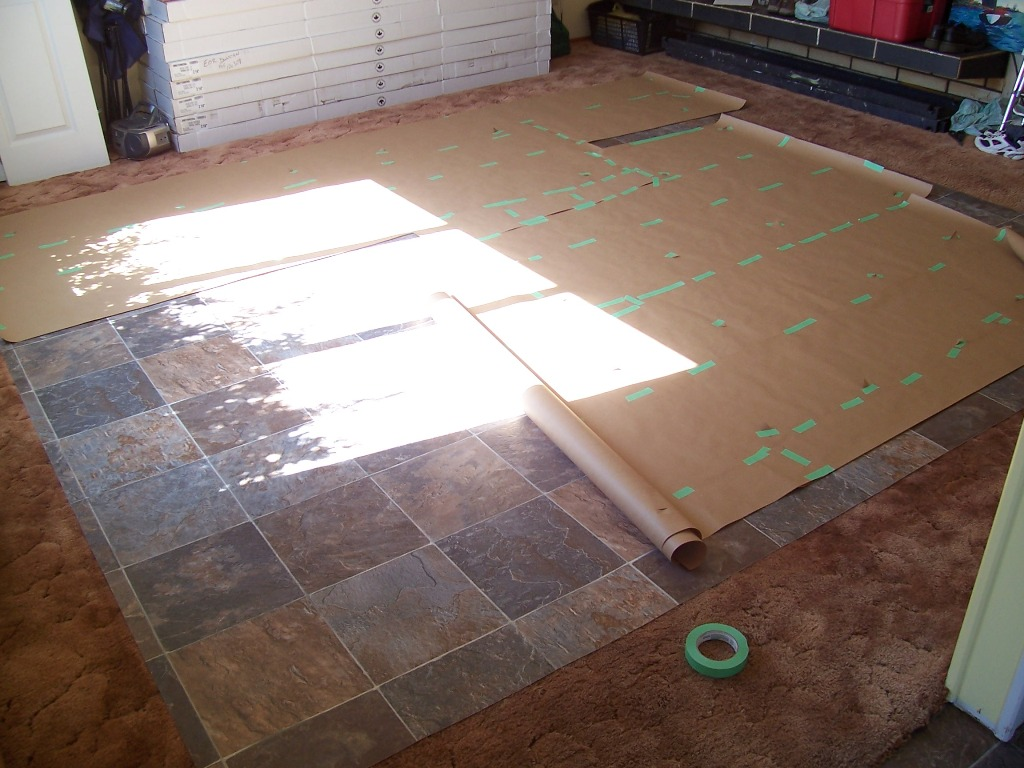 Cruise Of The Ladybug Installing Vinyl Roll Flooring In A