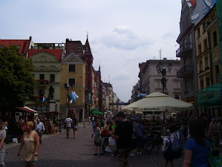 Part of the Stary Rynek in the Stare Miasto