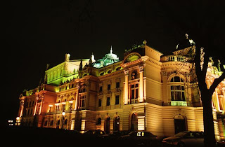 The Opera House in Krakow