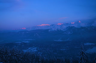 A view of the Tatras