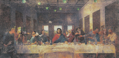 the last supper parody