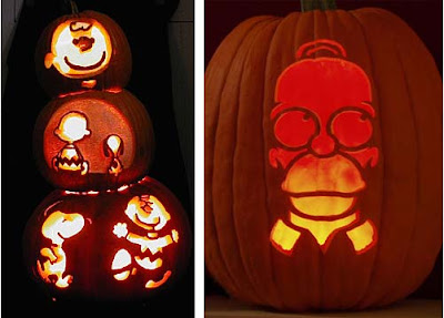 Popped culture its the celebrity pumpkin charlie brown peanuts homer simpson pronofoot35fo Image collections