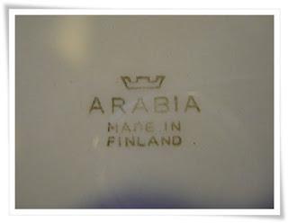 Arabia Leimat Ja Merkinnät