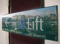 MRT Lift Sign. Credit: http://www.flickr.com/photos/crazyegg95/