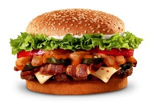 To The Right Is Offender A Burger King Angry Whopper