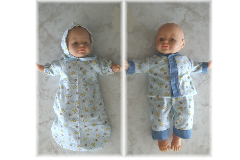 Art Dolls American Girl Bitty Twins Doll Clothes Bunting