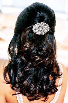 semi-preso penteado