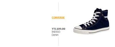 109YTL - Converse ��lg�nl��� [Fiyatlar�yla Birlikte]