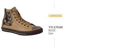 KAHVERENGC4B0CONVERSE - Converse ��lg�nl��� [Fiyatlar�yla Birlikte]
