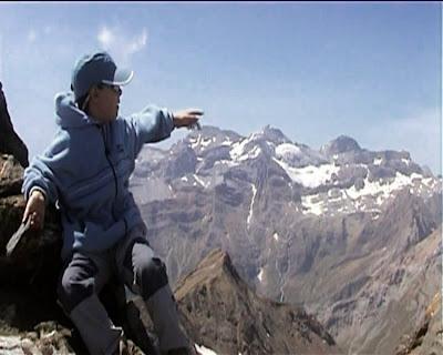 Mirando hacia el Monte Perdido