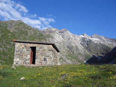 Cabaña del Embalse de Ossoue