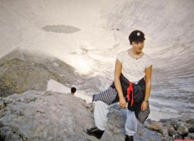 Subiendo por la Escupidera del Monte Perdido