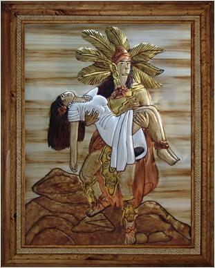 Display Aztec Love By Cristina Salgado Display Aztec Love By Cristina Salgado