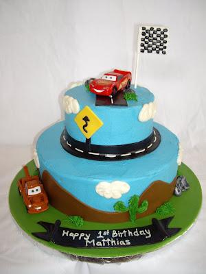 Sweets And Life Baking Inspiration Disney Pixar Car Cakes