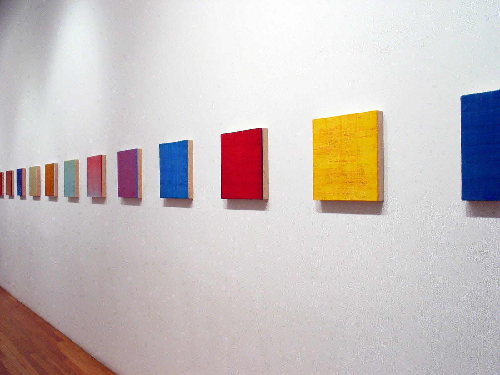 Installation view: OK Harris Gallery, New York City, 2007