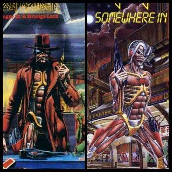 Iron Maiden Somewhere Tattoo Picture  |Iron Maiden Somewhere In Time Tattoo