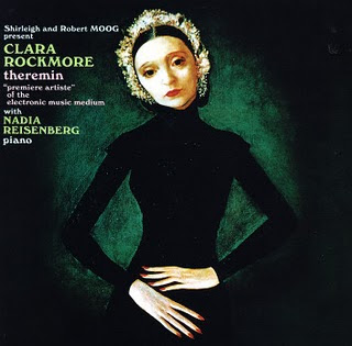 Portada original del álbum The Art Of Theremin de Clara Rockmore