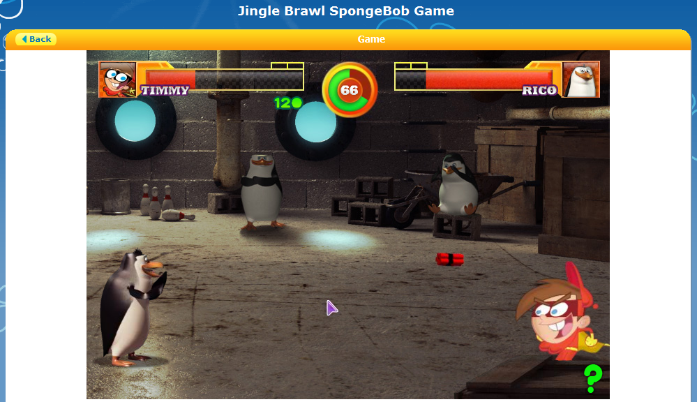 Spongebob Squarepants (Character)   Nickelodeon Games Wiki ...  Jingle Brawl Nicktoons