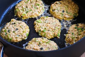 Salmon Patties found on KalynsKitchen.com