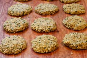 Recipe for Baked Falafel Patties with Yogurt-Tahini Sauce | Kalyn's ...