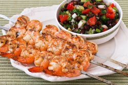 ... Kitchen®: Nick's Chipotle Grilled Shrimp with Black Bean Salsa