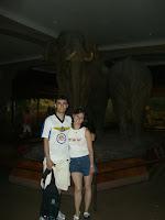 Eu e Nina no Museu de História Natural - Me and Nina at the Natural History Museum