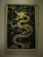 Estampa de dragão chinês - Chinese dragon picture