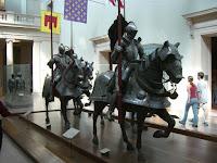 Armaduras de cavaleiros e seus cavalos - Armors from knights and their horses