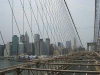 Manhattan vista da Ponte do Brooklin - Manhattan view from the Brooklin Bridge