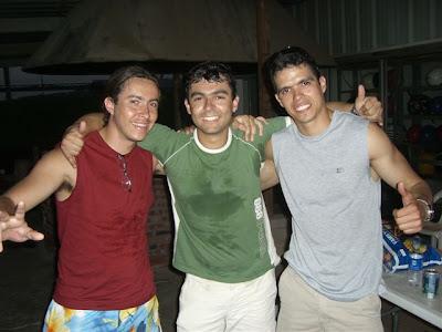 Itajubá (vulgo Rodrigo), eu e Tabajara - Itajubá (named Rodrigo), me and Tabajara