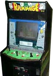 Classic Video Gamers Game Of The Week Rampage For Arcade