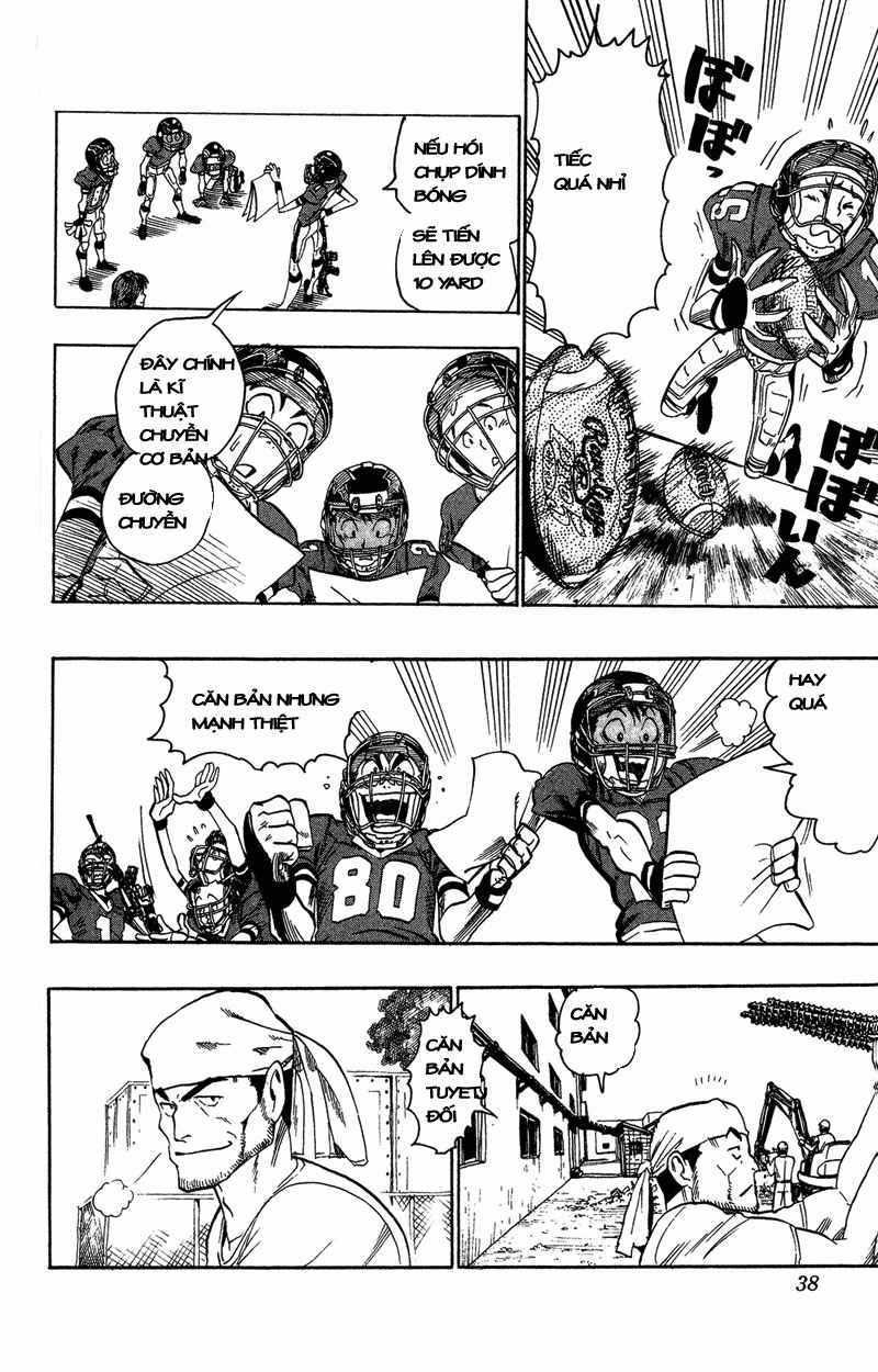 Eyeshield 21 chapter 36 trang 12