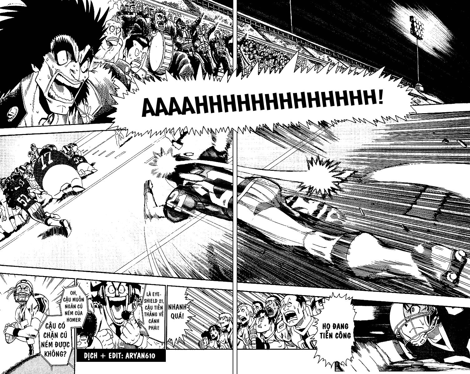 Eyeshield 21 chapter 62 trang 7