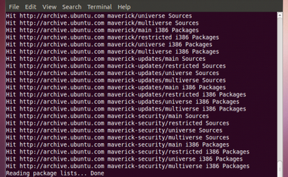 How to speed up the downloading of updates and new packages with apt