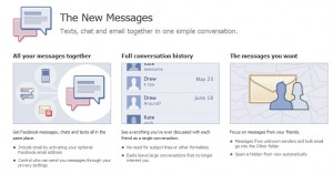 How to activate Facebook messages