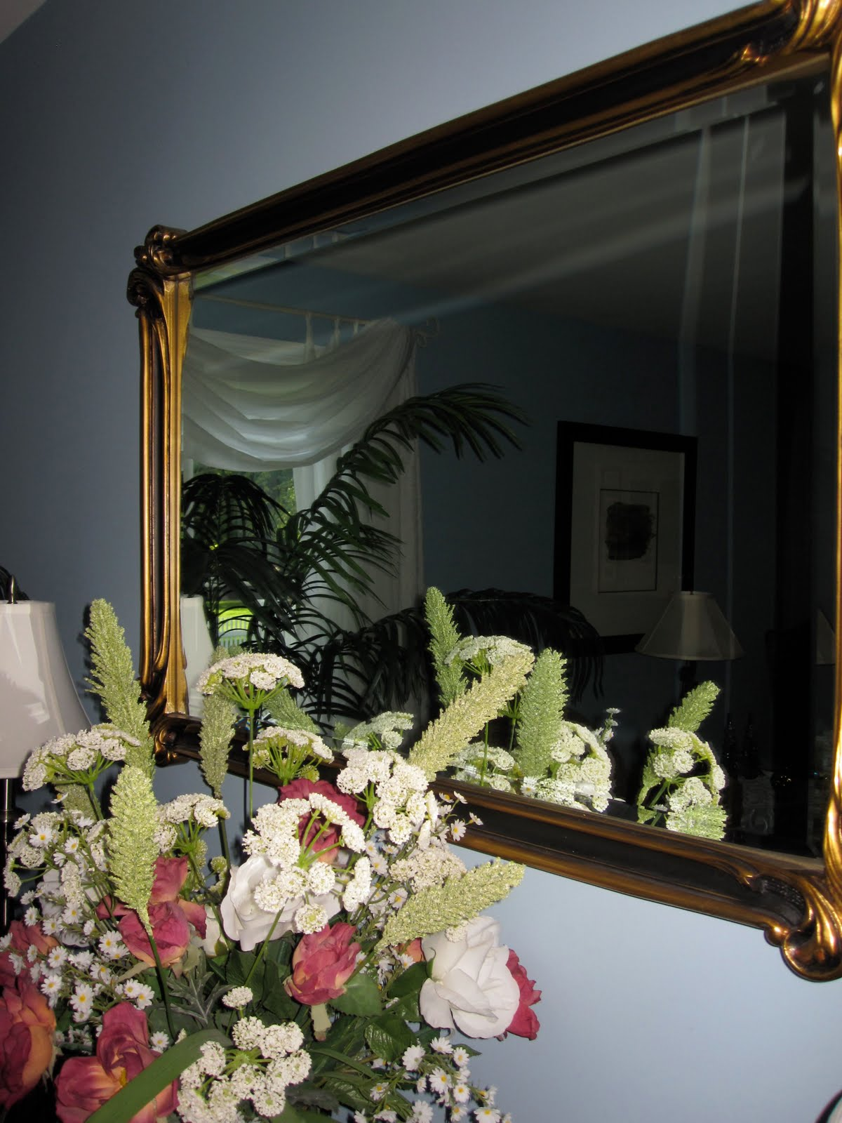 Barb's Decorating Tips: Use Mirrors To Reflect Light