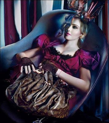 Мадонна для Louis Vuitton.
