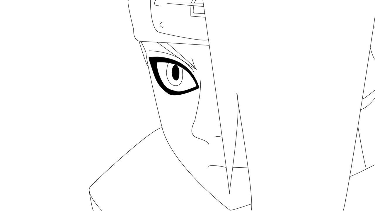Desenhos Do Naruto Para Copiar No Caderno