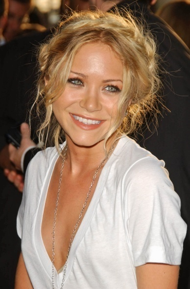 Mary-Kate Olsen Braids hairstyle beautiful braids hairstyle