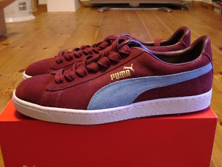 ceb0ce0c Puma Trainers - colourways and variations: Claret and blue