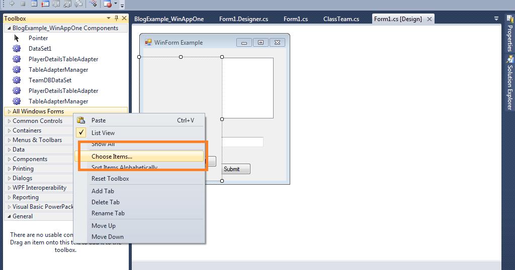 Vb net User Control not updating