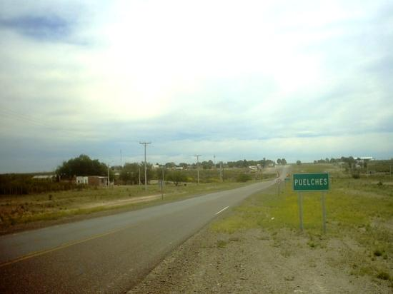 AREAS DE DESCANSO EN BANQUINAS DE LA RUTA NACIONAL 152