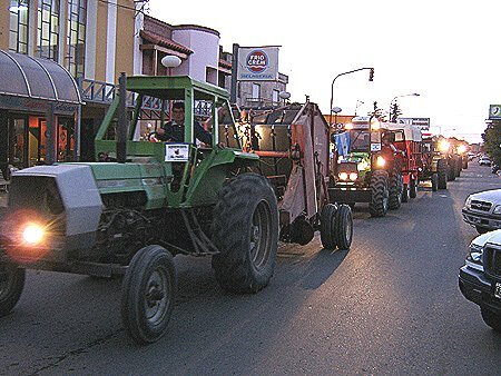 Tractorazo: Masiva concurrencia en Macachín